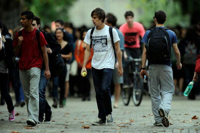 the majority of college students do not figure out their life's purpose so they follow the fate of the rest world.