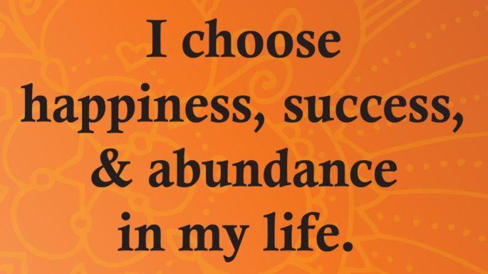 develop a prosperity consciousness
