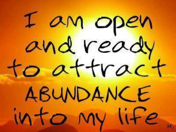 replacing thoughts of scarcity with thoughts of abundance is a key step in developing a prosperity consciousness.